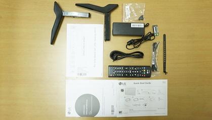 LG LH576D accessories