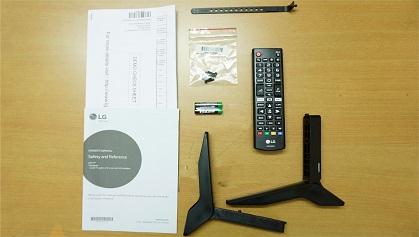 LG LJ573D accessories
