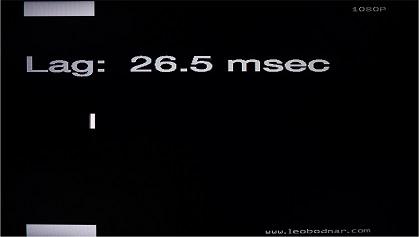 LG LJ573D input lag in Game Mode