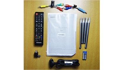 Samsung K4300 accessories