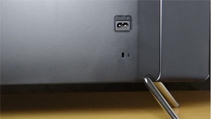 Samsung K4300 back inputs