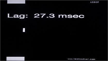 Sony W562D input lag