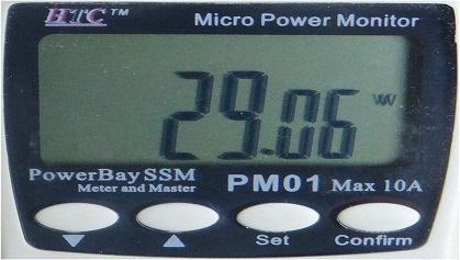 Sony W562D max power consumption