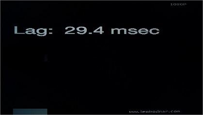 VU D7545 input lag