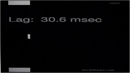 VU K160M input lag
